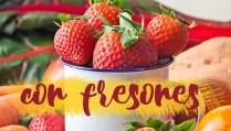 Recetas e ideas con fresones - Gastronomía Vegana