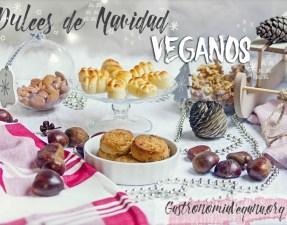 Dulces de Navidad veganos - GastronomiaVegana.org