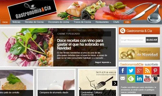 Gastronom a c a se despide el blog de cocina y recetas - Cocina y cia ...