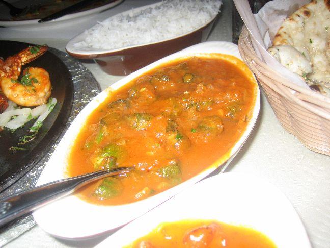 ganesh indian cuisine bindi masala