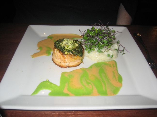 baxters american pesto pistachio salmon