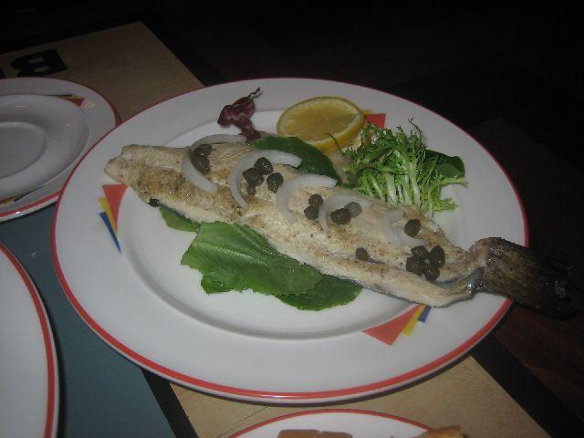vienna bistro smoked trout