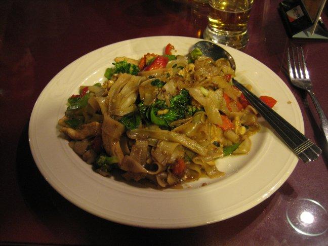 Thai Garden pad kee mao