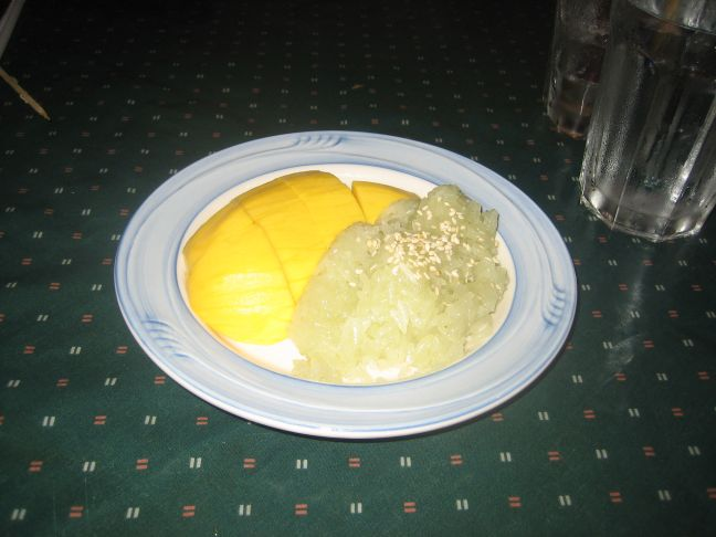 tasty thai sticky rice