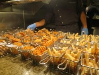 bacchanal fries onion rings