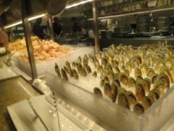 bacchanal green lip mussels