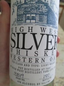 high west white whiskey