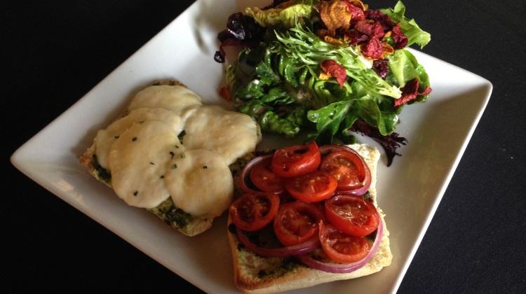 faustina hot caprese sandwich