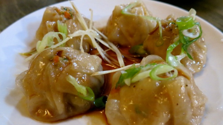 street dumplings at rye whiskey and waffles