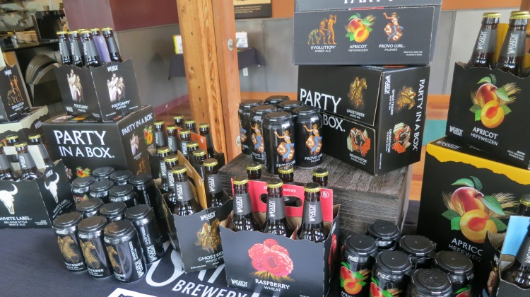 wasatch beers new packaging