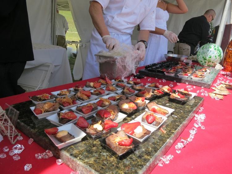 francks offering at taste of the wasatch 2013
