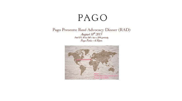 pago rose advocacy dinner 2014