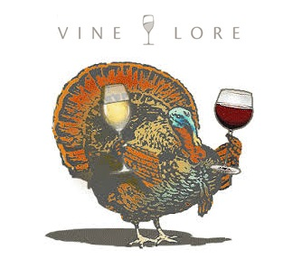 vine lore thanksgiving wine
