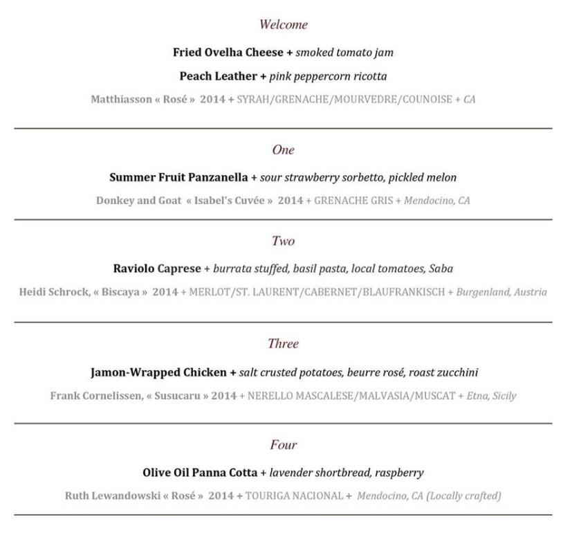 pago rose advocacy menu 2015