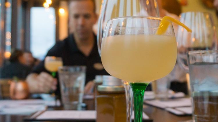 Hemingway cocktail at porch