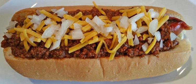 red hot slc hot dog
