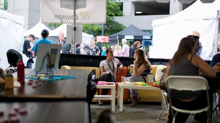 Tastemakers in 2014 VIP lounge
