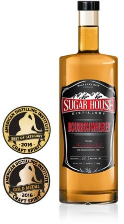 Sugar House Distillery bourbon whiskey