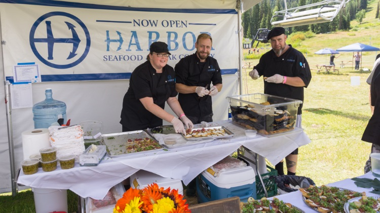 Taste Of The Wasatch 2015 harbor seafood