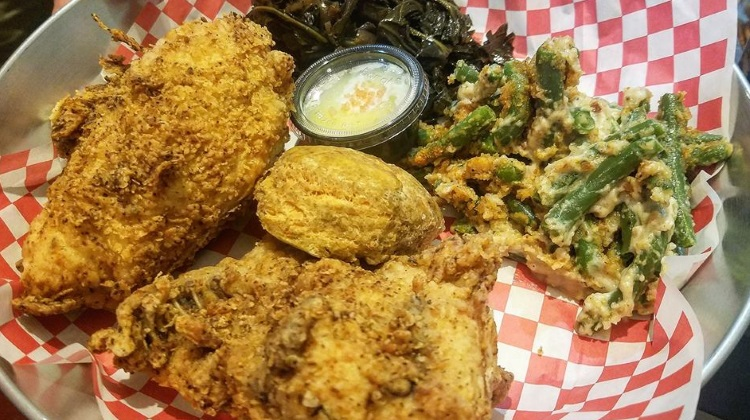 SoCo: fried chicken plate