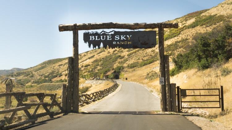 Blue Sky Ranch: entrance