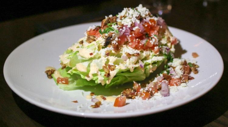 Black Sheep Sugar House - wedge salad
