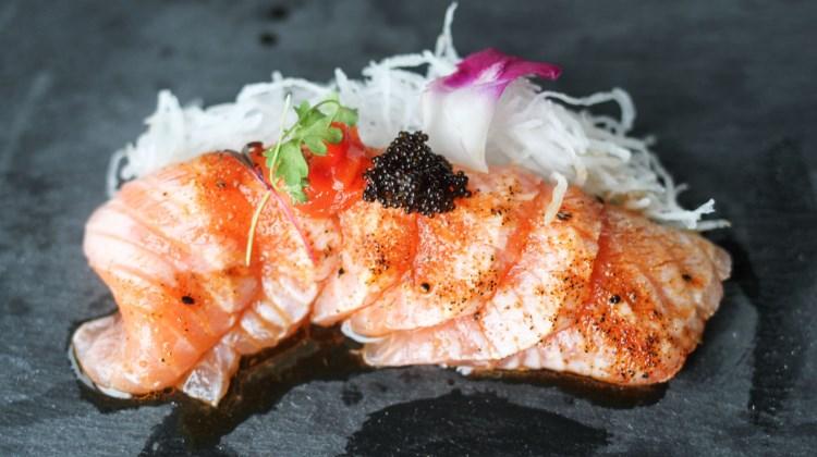 Chopfuku - seared salmon