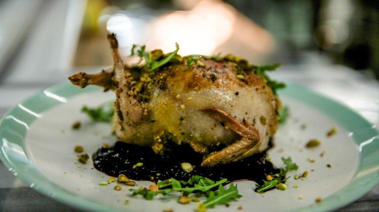 Fireside On Regent - stuffed quail