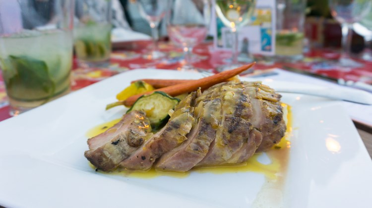 Savor The Summit 2016 - grilled pork tenderloin with mojo sauce