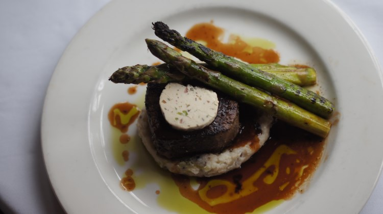 Log Haven - filet mignon with marrow butter