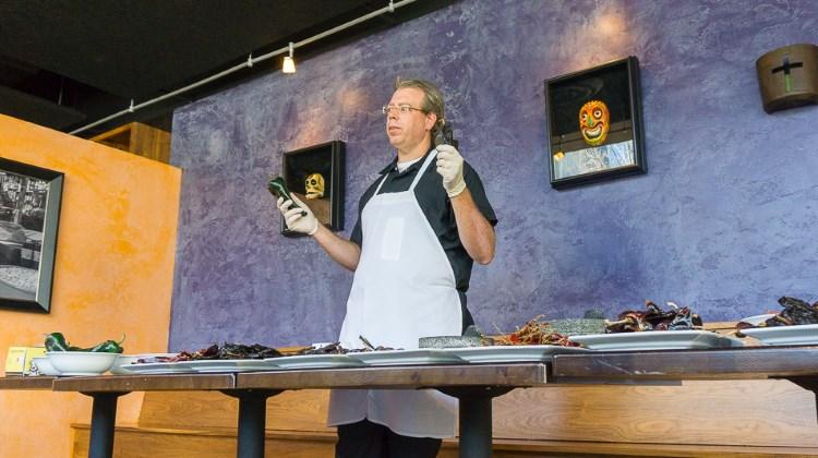 Chef Matt Lake of Alamexo at 2016 chile class