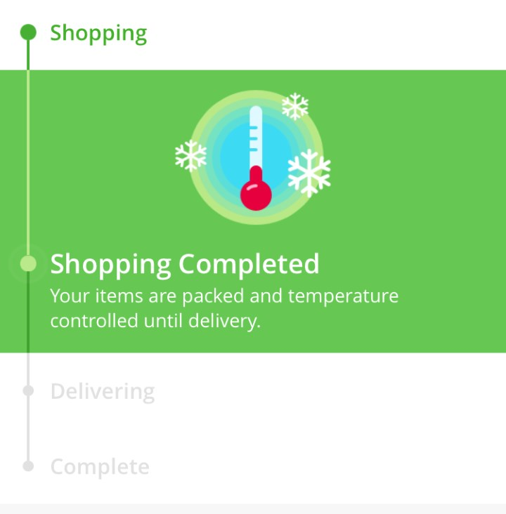 Instacart - shopping complete