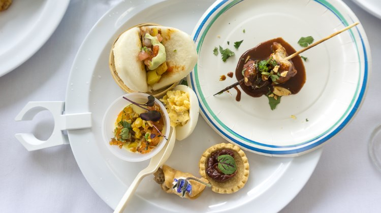 Taste Of The Wasatch - plate of food from 2016
