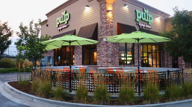 Pulp Lifestyle Kitchen - Sandy exterior. Credit, Pulp.