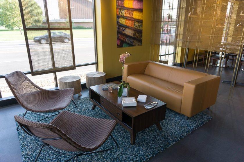 Saffron Valley Sugar House - lounge area