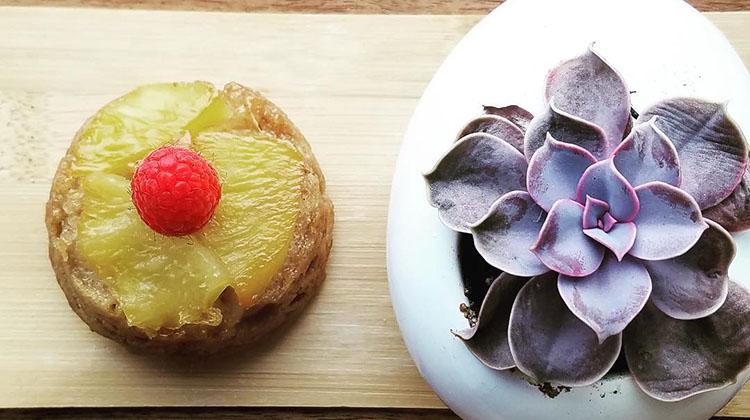 Cuppa - fresh baked pineapple upside down cake. Credit Cuppa