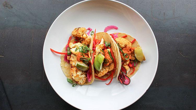 Avenues Proper - roasted cauliflower tacos (Avenues Proper)