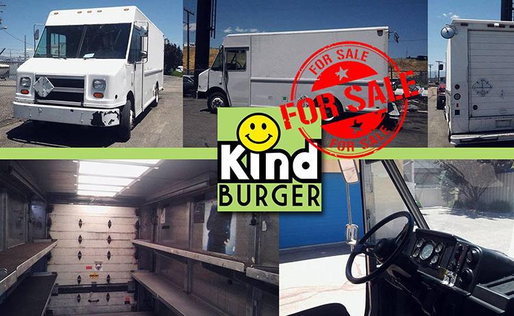 Kind Burger food truck for sale