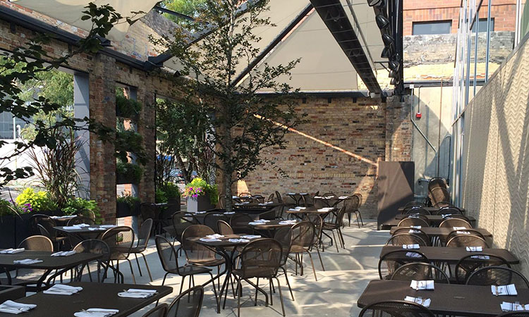 Current Fish And Oyster patio (Current)