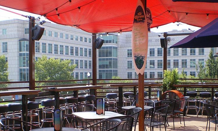 Green Pig Pub patio - (Green Pig)