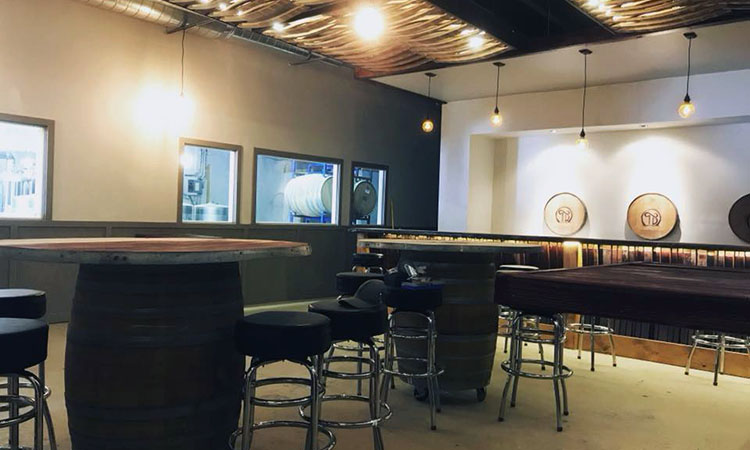 Toasted Barrel Brewery - tasting room almost complete (Toasted Barrel)
