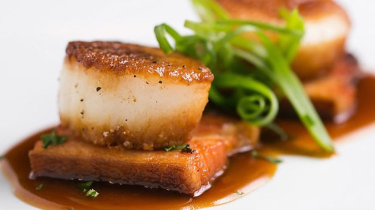 Spencer's - scallops with bacon (Nick Kuhns)