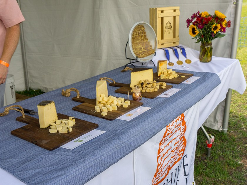 Taste Of The Wasatch 2017 - Beehive Cheese cheeses