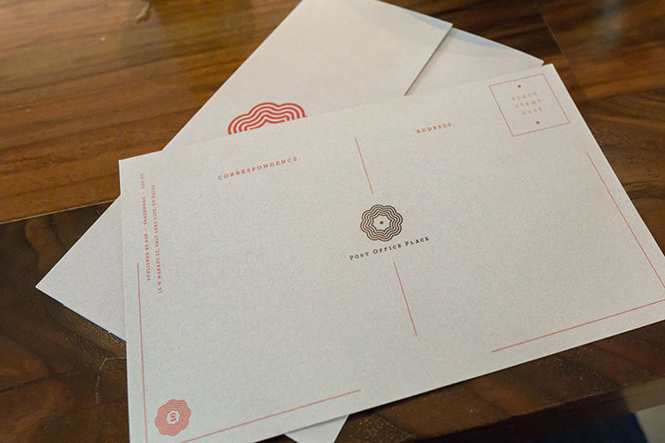 Post Office Place - post office themed menu