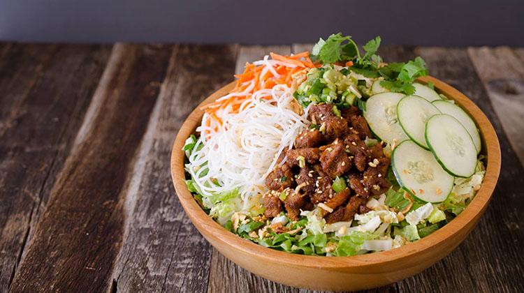 Zao Asian Cafe - salad bowl (Zao)