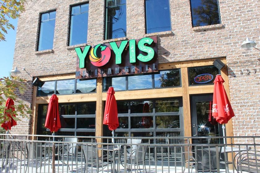 Yoyi's Mexican Grill - exterior (Sara Day)