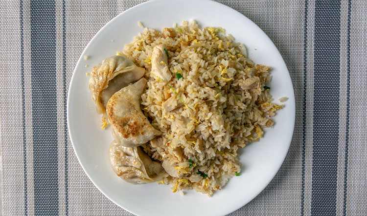 New Golden Dragon - salted fish and chicken fried rice