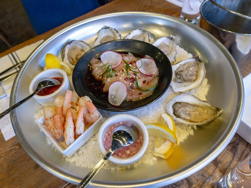 Bar George - chilled shellfish platter