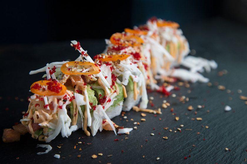 Five Sushi Brothers - maki roll