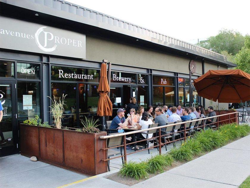 Avenues Proper - patio dining (Avenues Proper)